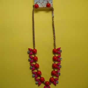 JUSTIN & TAYLOR Stunning Necklace & Earrings (NEW)